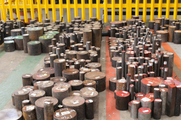 various offcuts steel